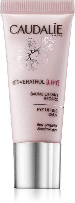 Caudalie Resveratrol [Lift] učvrstitveni balzam za predel okoli oči proti gubam, zabuhlosti in temnim kolobarjem